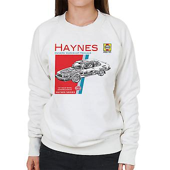 Haynes Owners Workshop Manual 0765 Saab 900 Turbo Women's Sweatshirt
