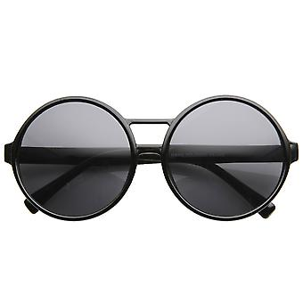 Large Womens Fashion Oversized Round Circle Sunglasses