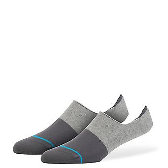 stance spectrum super invisible grey socks