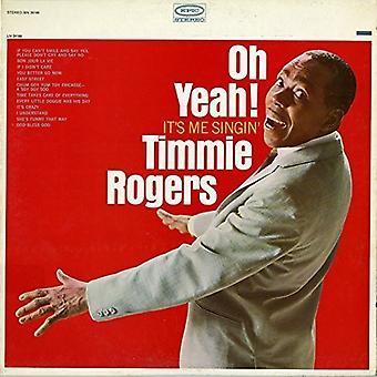 Timmie Rogers - Oh ja det är mig skola [CD] USA import