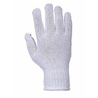 Portwest - Fortis Polka Dot Gripper Glove Pack of 12
