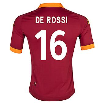 Camiseta de la Roma local de 2012-13 (De Rossi 6)
