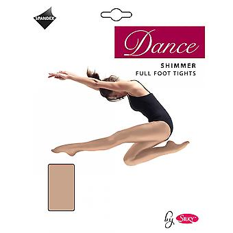 Silky Girls Dance Shimmer Full Foot Tights (1 Pair)