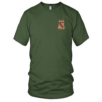 US Army - 59th Infantry Regiment Embroidered Patch - Let Em Have It Mens T Shirt