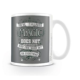 Harry Potter Mug Wands Out gryffindor new Official White