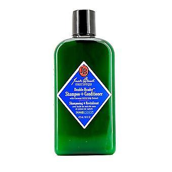 Jack Black Double-Header Shampoo + Conditioner - 473ml / 16oz