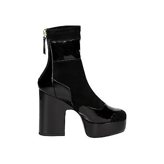 Pierre Hardy women's LM05BLACK Black Suede Ankle Boots