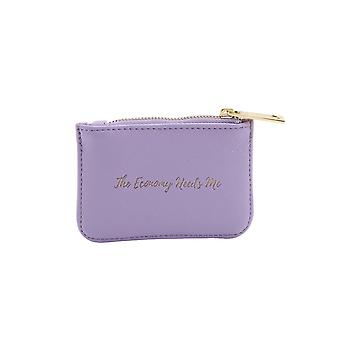 CGB Giftware Willow And Rose The Economy Needs Me Lilac Purse