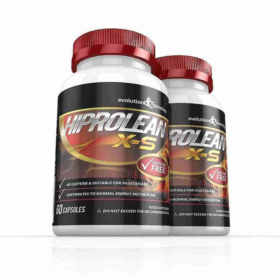 Hiprolean X-S Caffeine-Free Fat Burner - 2 Month Supply - Caffeine-Free Fat Burner - Evolution Slimming