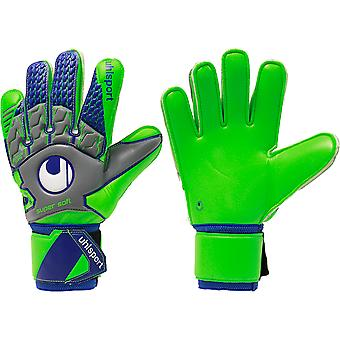 UHLSPORT TENSIONGREEN SUPERSOFT Goalkeeper Gloves Size