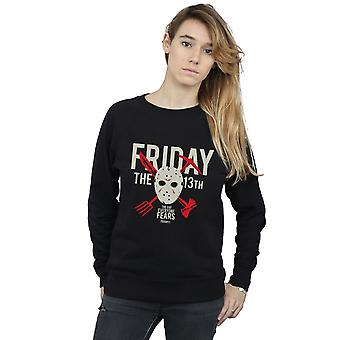 Friday 13th Women's Day Of Fear Sweatshirt