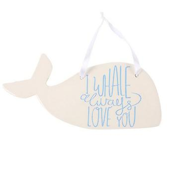 Something Different I Whale Always Ceramic Hanging Decoration