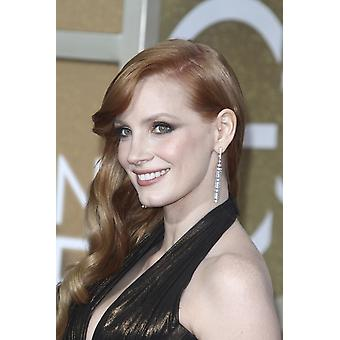 Jessica Chastain At Arrivals For The 72Nd Annual Golden Globe Awards 2015 - Part 3 The Beverly Hilton Hotel Beverly Hills Ca January 11 2015 Photo By Charlie WilliamsEverett Collection Celebrity
