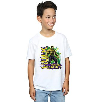 Marvel Boys Avengers Hulk Incredible Avenger T-Shirt