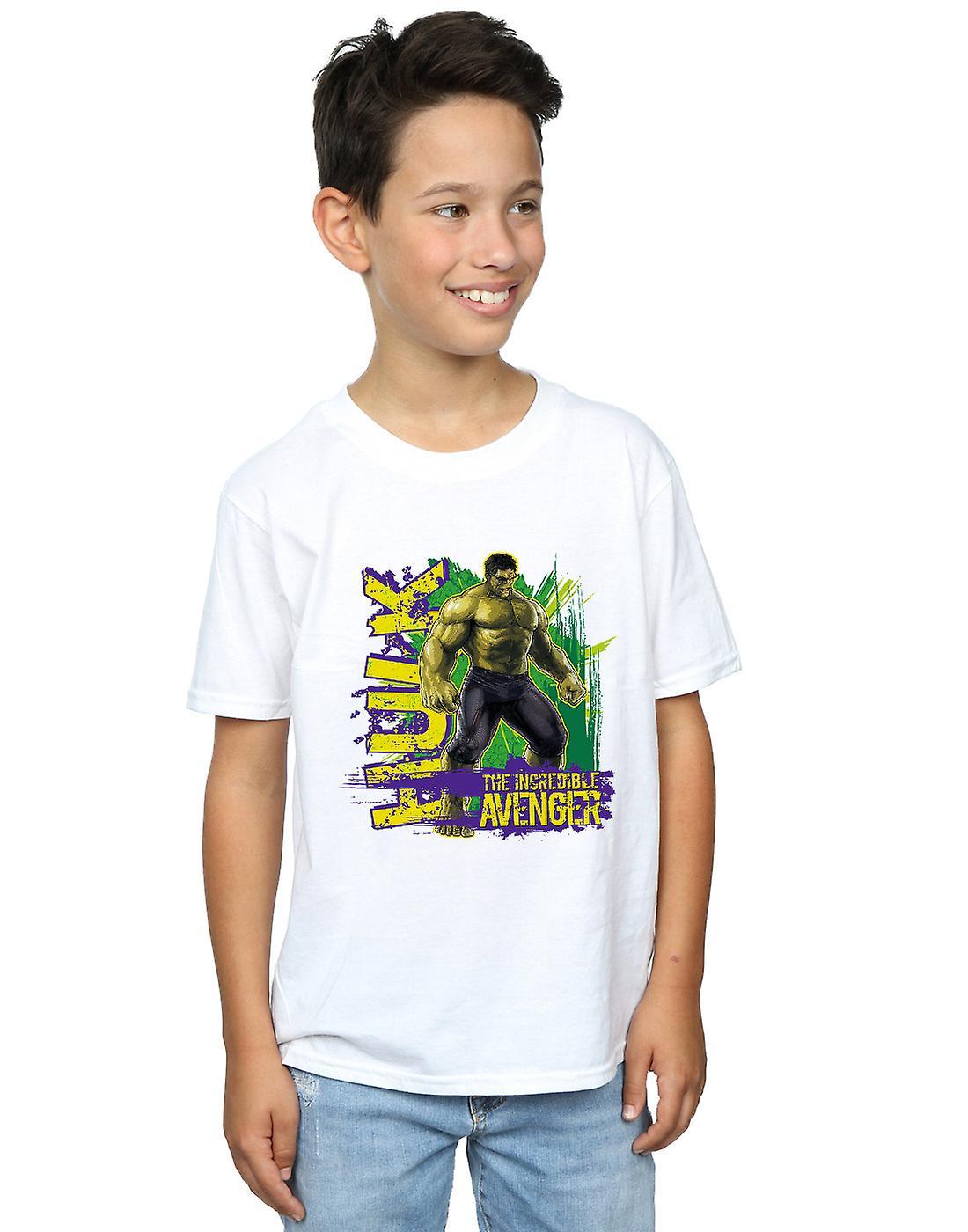 Wonder Boys Avengers Hulk ongelooflijke Avenger T-Shirt