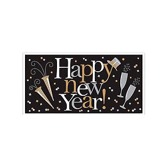 Bannière géante Happy New Year