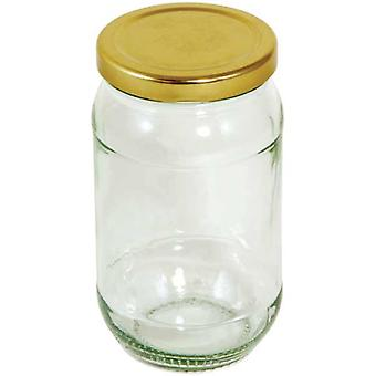 Round Preserving Jar - 454g (16oz)