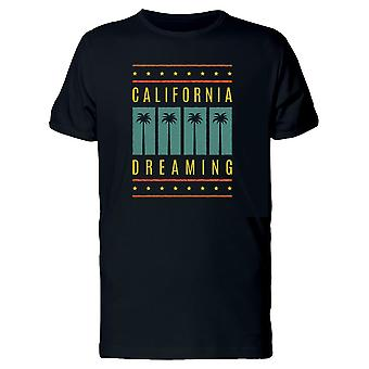 Retro Palms California Dreaming Tee Men's -Image by Shutterstock