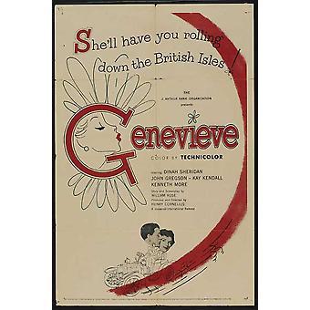 Genevieve Movie Poster (11 x 17)