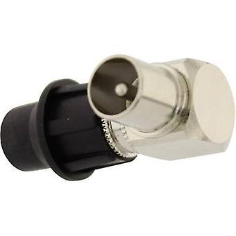 Enchufe coaxial, diámetro del cable en ángulo: 7 mm Telecom Security