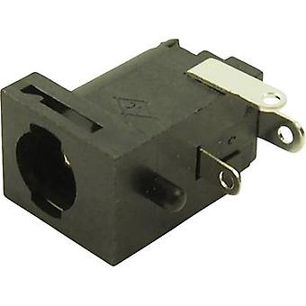 Cliff FC681477 Low power connector Socket, horizontal mount 5.85 mm 2.5 mm 1 pc(s)