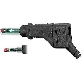 Stäubli XZGL-425 Straight blade plug Plug, straight Pin diameter: 4 mm Black 1 pc(s)