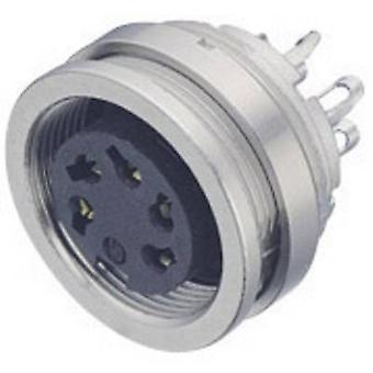 Binder 09-0112-00-04 Micro Circular Connector Series Nominal current (details): 6 A