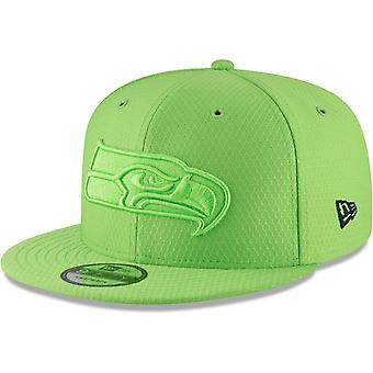 New Era 9Fifty Snapback Cap - COLOR RUSH Seattle Seahawks