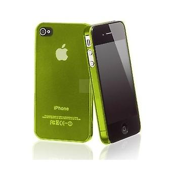 IPhone 4 & 4S Hard Plastic Cover Back Case - Green