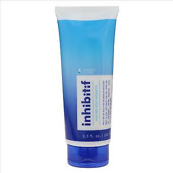 Inhibitif y sin vello corporal hidratante 3.3 oz/100 ml nuevo en caja