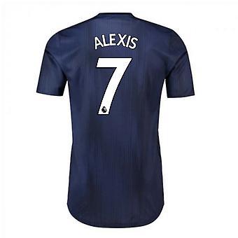 2018-2019 Man Utd Adidas Third Adi Zero Football Shirt (Alexis 7)