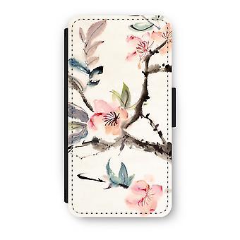 سامسونج جالاكسى S9 انعكاس القضية--الزهور يصنفه
