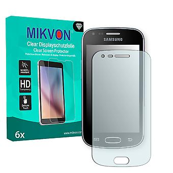 Samsung S7560 Galaxy Trend Screen Protector - Mikvon Clear (Retail Package with accessories)