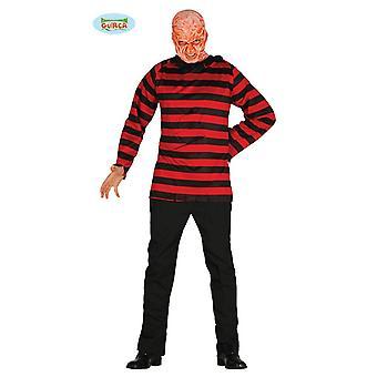 Mörder Horror Kostüm für Herren Halloween Horror Killer