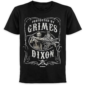 The walking dead T-Shirt protected by Grimes & Dixon