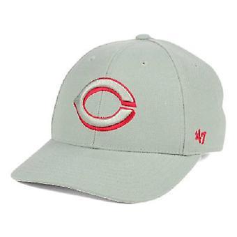 Cincinnati Reds MLB 47 Brand Gray Pop Adjustable Hat