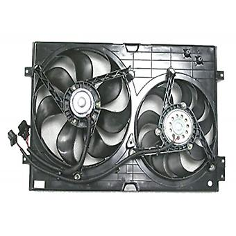 APDI 6035103 Dual Radiator and Condenser Fan Assembly