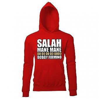 Salah Mane Mane Liverpool Hoody (Red) -Kids