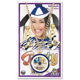 Jewelry set sailor