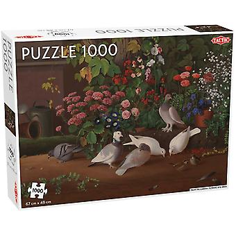 Tactic From the Garden: Flowers And Birds Jigsaw Puzzle (1000 Pieces)