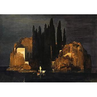 جزيرة الموتى، ميخائيل فروبيل، 40x60cm مع علبة