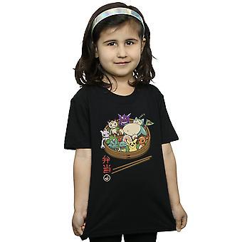 Vincent Trinidad Girls Bento Pocket Monsters T-Shirt