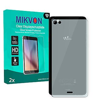 Wiko Highway Pure reverse Screen Protector - Mikvon Clear (Retail Package with accessories)