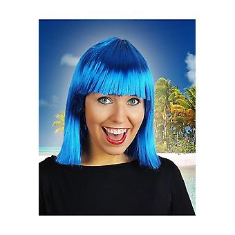 Pelucas peluca Samantha azul