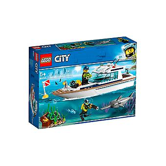 Lego City 60221 Great Vehicles Diving Yacht