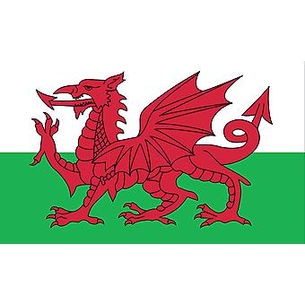Large Wales Welsh Dragon Flag