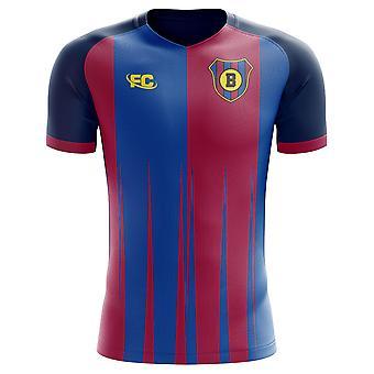 cce284eb0 2018-2019 Barcelona Fans Culture Home Concept Shirt