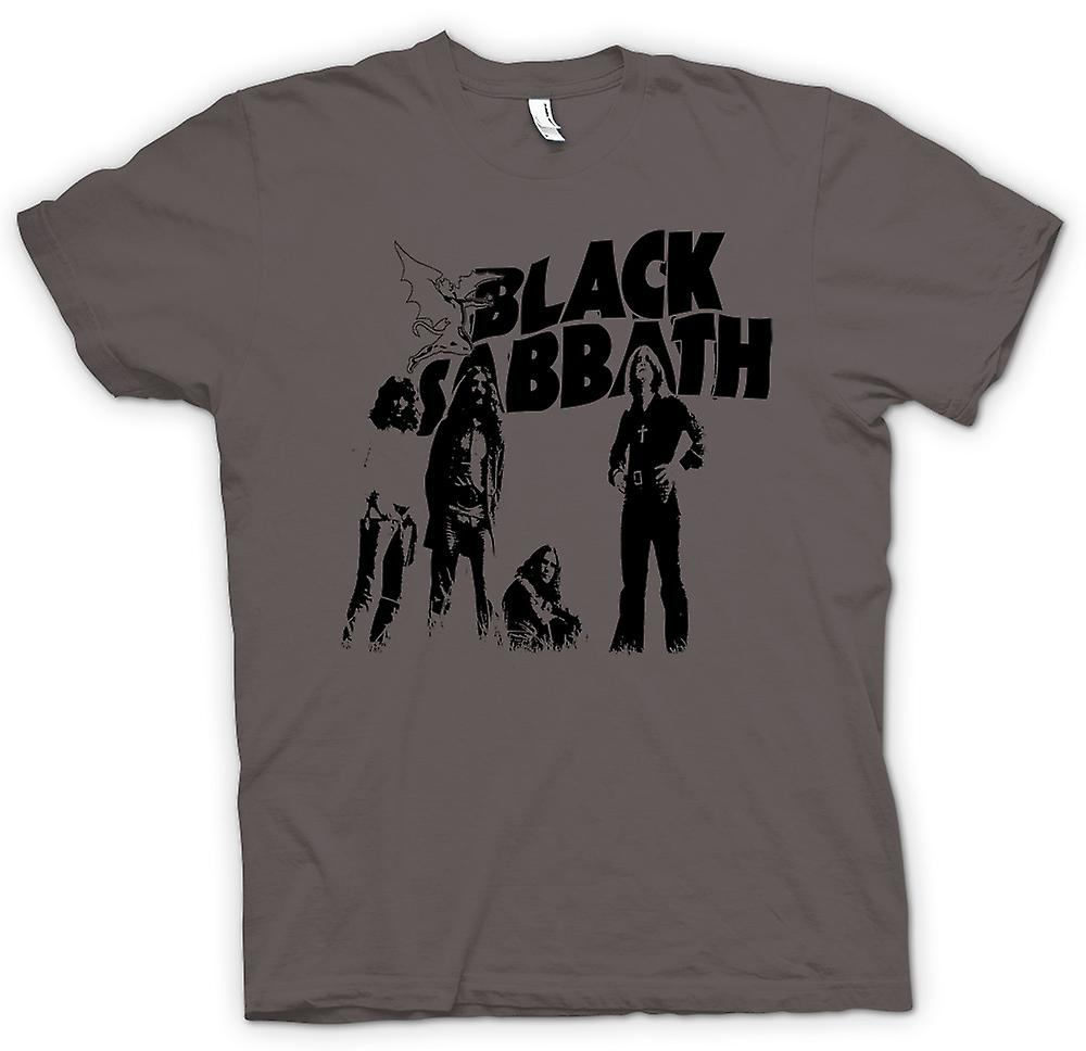 Mens T-shirt - Sabbath - Metal Devil