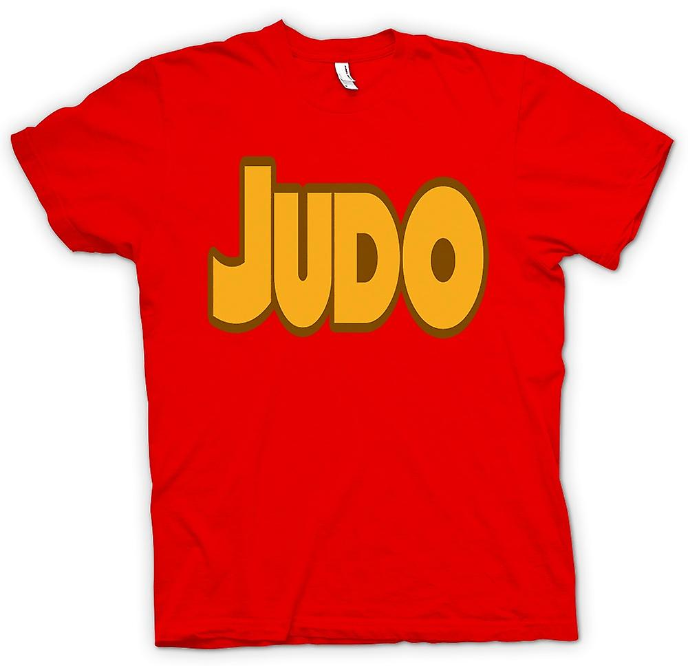 Hommes T-shirt - Judo - Art Martial - Slogan