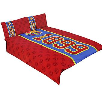 FC Barcelona Established Double Duvet Set